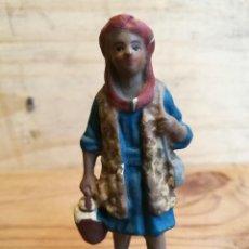 Figuras de Belén: FIGURA DE BELEN TIPO HEBREO PASTOR EN TERRACOTA 2. Lote 108362915
