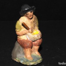 Figuras de Belén: FIGURA DE BELEN O PESSEBRE EN BARRO O TERRACOTA - PERSONAJE. Lote 109265139