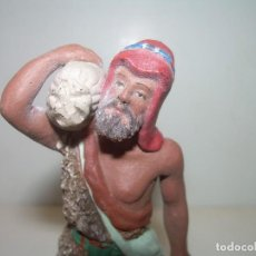 Figuras de Belén: DANIEL,JOSE URSUEGUIA-ANTIGUA FIGURA DE TERRACOTA 10 CM FIRMADA-PERFECTO ESTADO DE CONSERVACION.. Lote 110637247