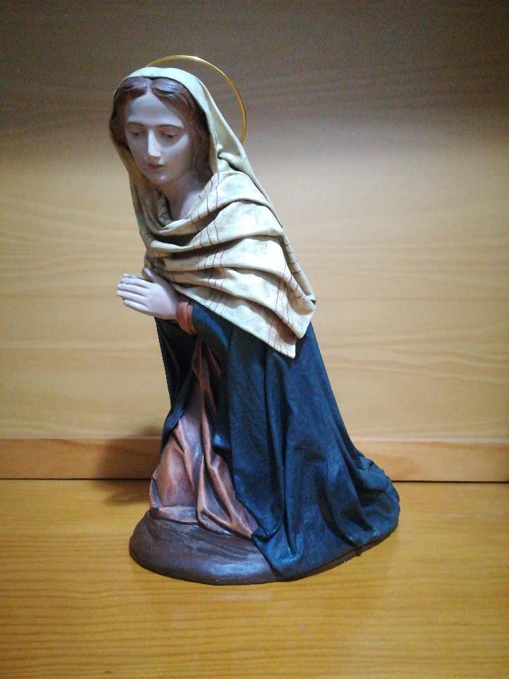 Figuras de Belén: Antiguas figuras de belén, pesebre nacimiento artesanía serrano - Foto 4 - 110664575