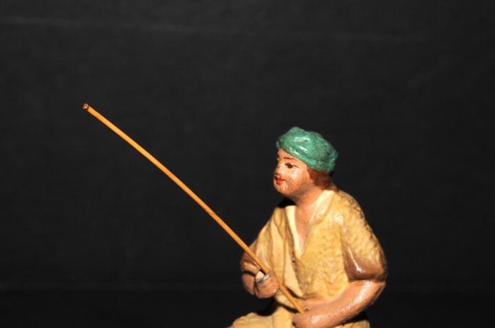 Figuras de Belén: FIGURA DE BELEN O PESSEBRE EN BARRO O TERRACOTA - PERSONAJE - Foto 2 - 111448911