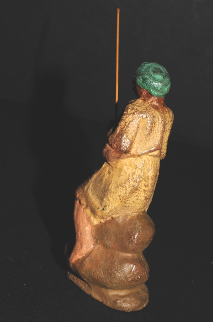 Figuras de Belén: FIGURA DE BELEN O PESSEBRE EN BARRO O TERRACOTA - PERSONAJE - Foto 5 - 111448911