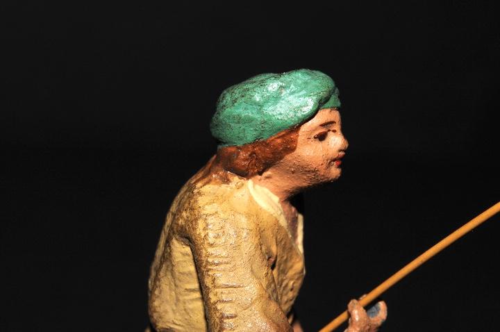 Figuras de Belén: FIGURA DE BELEN O PESSEBRE EN BARRO O TERRACOTA - PERSONAJE - Foto 7 - 111448911