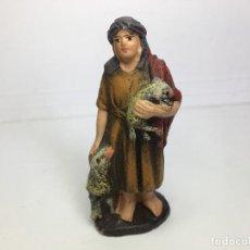 Figuras de Belén: FIGURA DE BELEN DE BARRO - MURCIA. Lote 112560167
