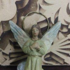 Figuras de Belén: ANTIGUA FIGURA PARA BELÉN ÁNGEL EN TERRACOTA. Lote 114908230