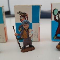 Figuras de Belén: 3 PASTORES BELEN MIRETE. 4CMS. Lote 115274244