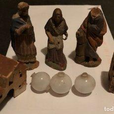 Figuras de Belén: ANTIGUAS FIGURAS DE BELEN O PESEBRE. Lote 116822776