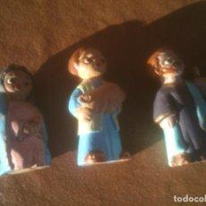 Figuras de Belén: BELEN ANTIGUAS FIGURAS PESEBRE. EN BARRO.. Lote 117518839