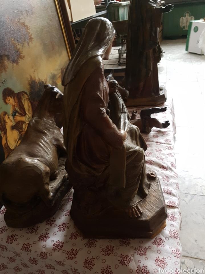 Figuras de Belén: Nacimiento, figuras de Belén de gran tamaño, San Jose 62cm. - Foto 3 - 117644259