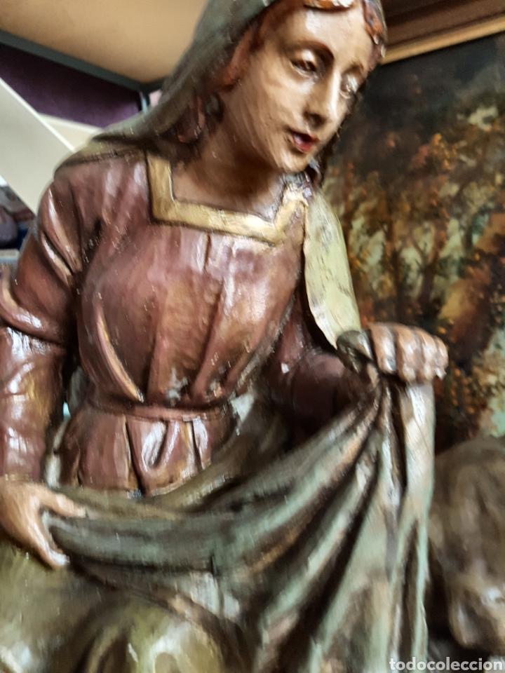 Figuras de Belén: Nacimiento, figuras de Belén de gran tamaño, San Jose 62cm. - Foto 5 - 117644259