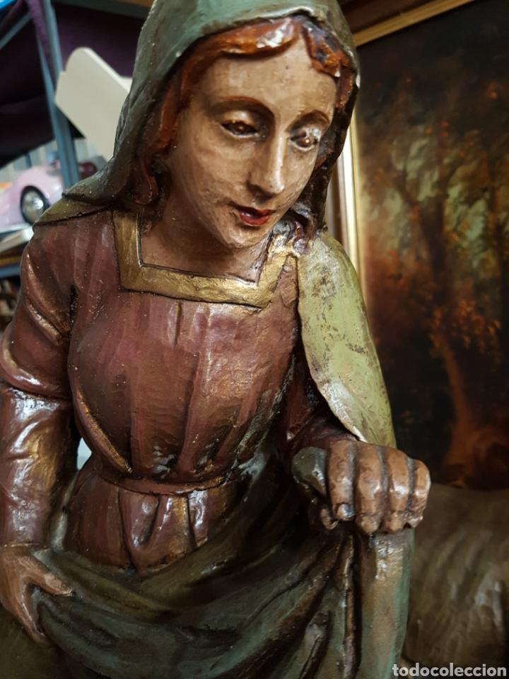 Figuras de Belén: Nacimiento, figuras de Belén de gran tamaño, San Jose 62cm. - Foto 7 - 117644259