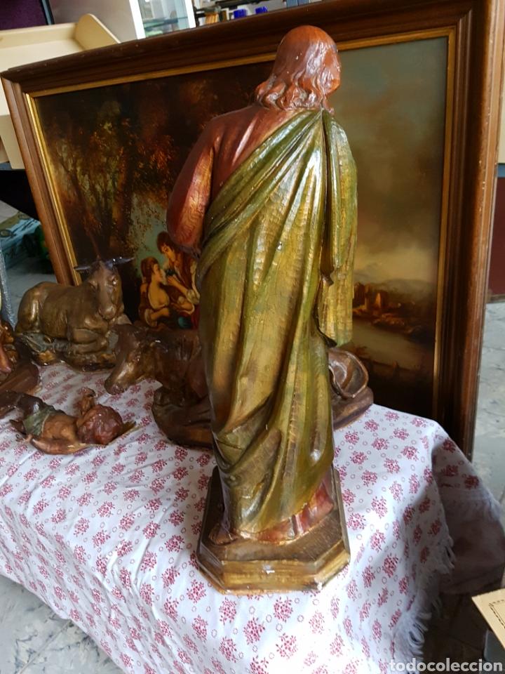 Figuras de Belén: Nacimiento, figuras de Belén de gran tamaño, San Jose 62cm. - Foto 9 - 117644259