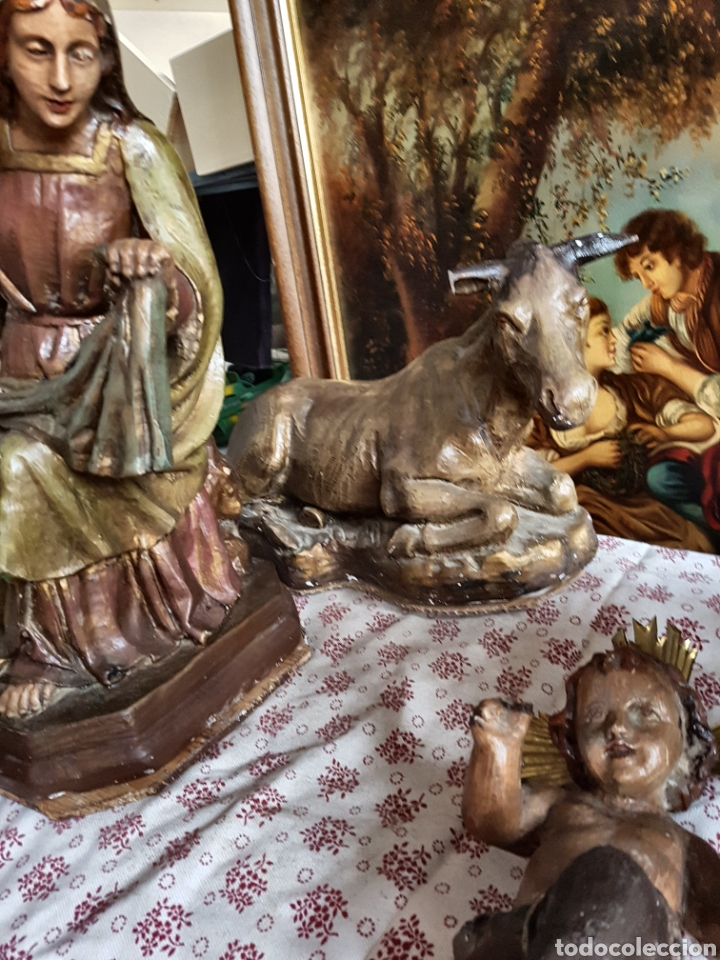 Figuras de Belén: Nacimiento, figuras de Belén de gran tamaño, San Jose 62cm. - Foto 19 - 117644259
