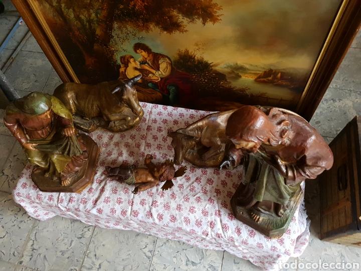 Figuras de Belén: Nacimiento, figuras de Belén de gran tamaño, San Jose 62cm. - Foto 35 - 117644259