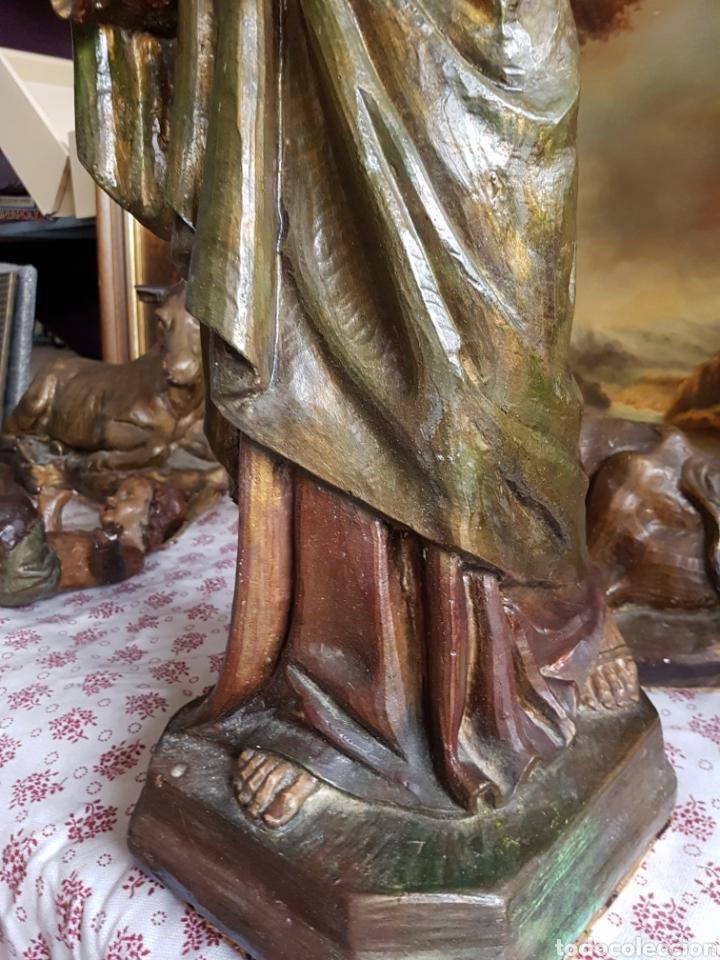 Figuras de Belén: Nacimiento, figuras de Belén de gran tamaño, San Jose 62cm. - Foto 36 - 117644259
