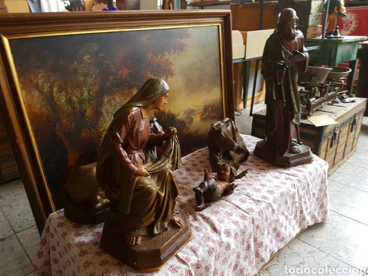 Figuras de Belén: Nacimiento, figuras de Belén de gran tamaño, San Jose 62cm. - Foto 38 - 117644259