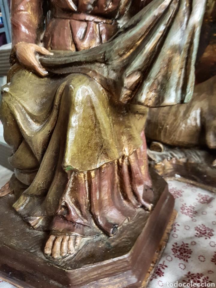 Figuras de Belén: Nacimiento, figuras de Belén de gran tamaño, San Jose 62cm. - Foto 41 - 117644259