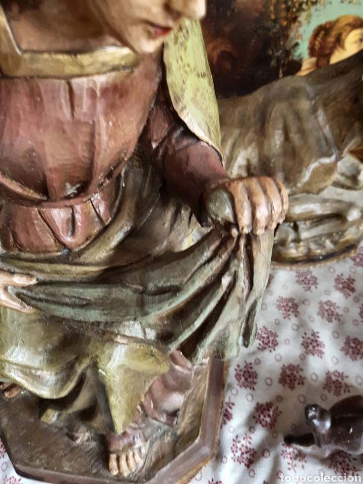 Figuras de Belén: Nacimiento, figuras de Belén de gran tamaño, San Jose 62cm. - Foto 43 - 117644259