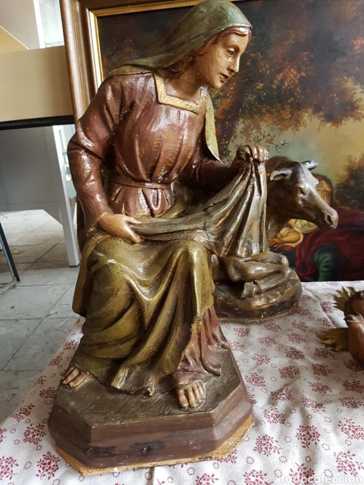 Figuras de Belén: Nacimiento, figuras de Belén de gran tamaño, San Jose 62cm. - Foto 46 - 117644259