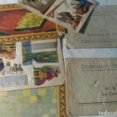 Figuras de Belén: 1 PEDESTALES BIBLICOS PESEBRE BELEN TROQUELADO . Nº 6 ED BARSAL. Lote 180507832