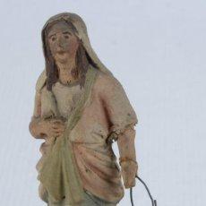 Figuren für Weihnachtskrippen - Figura de belen en barro Campesina finales siglo XIX - 128373167