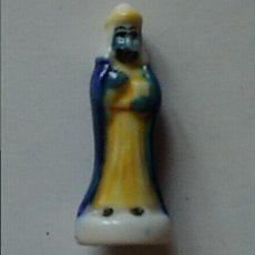 Figuras de Belén: FIGURITA REY MAGO ROSCÓN DE REYES. Lote 128633716