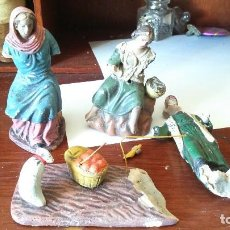 Figuras de Belén: LOTE FIGURAS BELÉN PARA RESTAURAR ARTEBELEN. . Lote 128640415