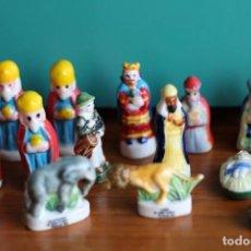 Figuras de Belén: LOTE FIGURAS DEL ROSCON DE REYES EN PORCELANA. Lote 128903799