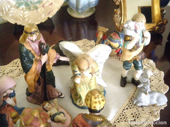 Figuras de Belén: Figuras de Belén de cerámica pintada a mano - Foto 4 - 128998775