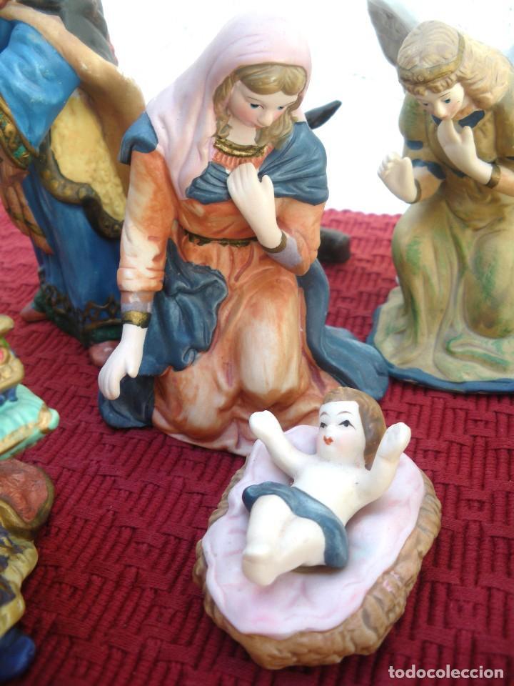 Figuras de Belén: Figuras de Belén de cerámica pintada a mano - Foto 7 - 128998775