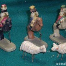 Figuras de Belén: FIGURAS DE BELEN - PESEBRE - NACIMIENTO . Lote 129130915