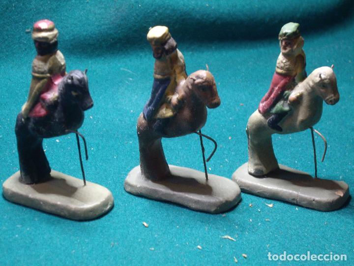 Figuras de Belén: FIGURAS DE BELEN - PESEBRE - NACIMIENTO - Foto 4 - 129130915