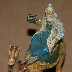 Figuras de Belén: REY MAGO MELCHOR DE LA MARCA OLIVER. Lote 131525406