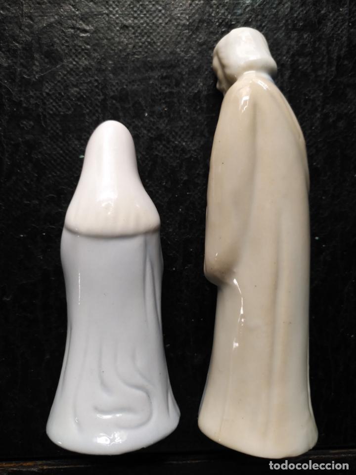 Figuras de Belén: precioso belen de porcelana estilo tonos lladró ... porcelana tonos celestes y grises . ver fotos - Foto 5 - 133613230