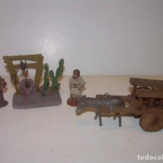 Figuras de Belén: ANTIGUAS Y PEQUEÑAS FIGURAS DE TERRACOTA...FIGURAS..3. CM.. Lote 134811518