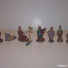 Figuras de Belén: ANTIGUAS Y PEQUEÑAS FIGURAS DE TERRACOTA..3 CM.. Lote 134811838