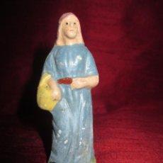 Figuras de Belén: FIGURA BELEN DE BARRO O TERRACOTA, 8 CM.. Lote 136120622