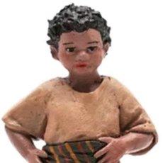 Figuras de Belén: FIGURA BELÉN NIÑO DE PIE. Lote 137874830