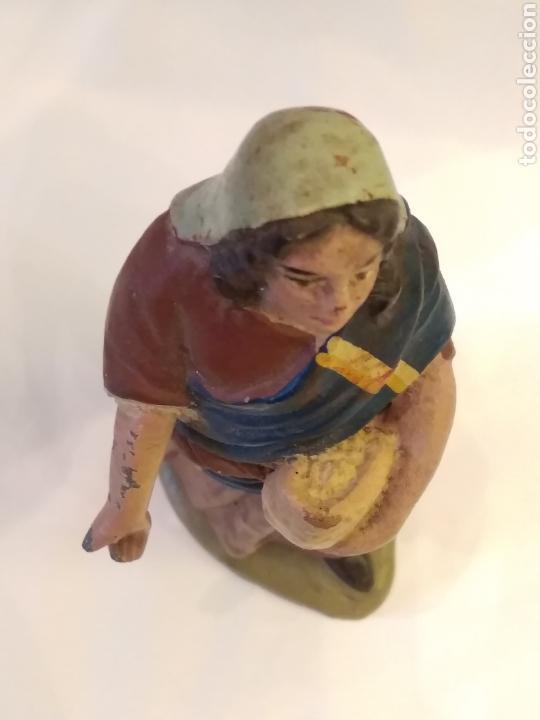 Figuras de Belén: Figura de Belén de terracota ( barro ) - Foto 5 - 137298436