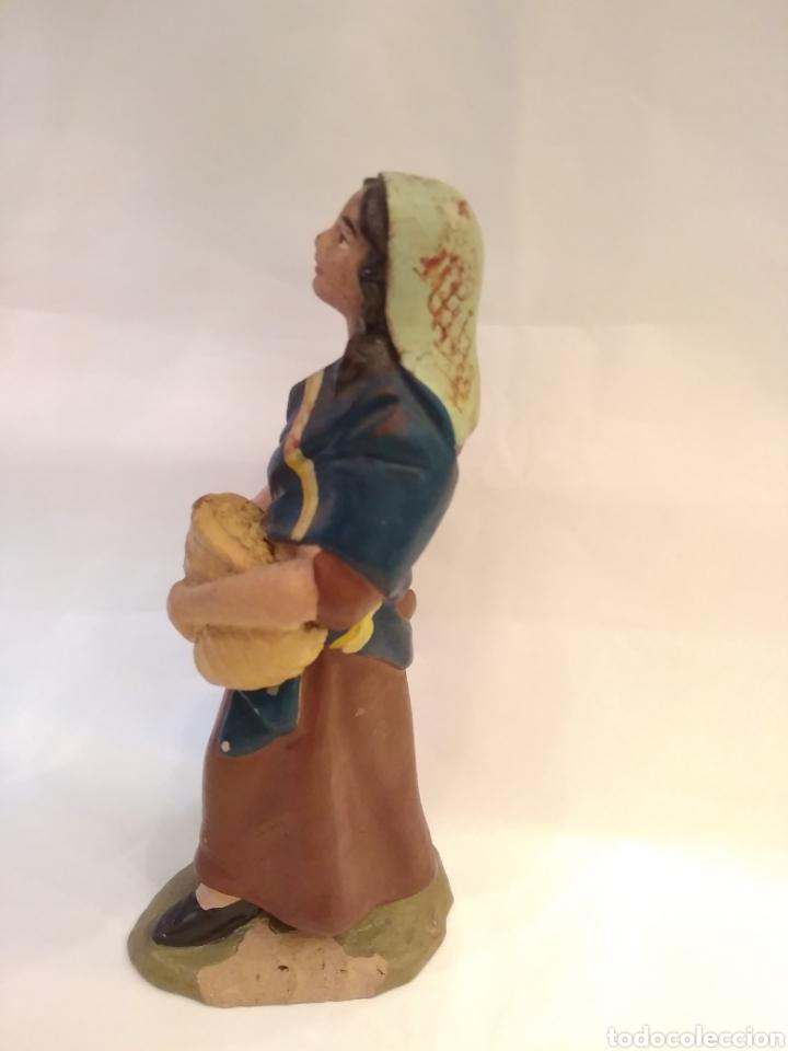 Figuras de Belén: Figura de Belén de terracota ( barro ) - Foto 9 - 137298436