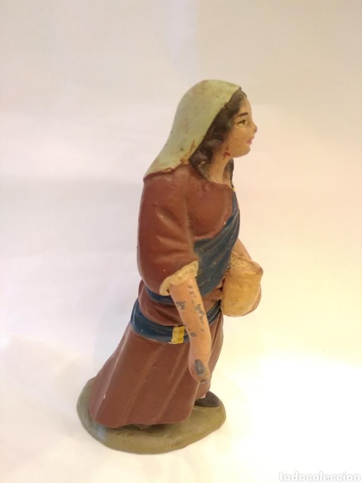 Figuras de Belén: Figura de Belén de terracota ( barro ) - Foto 10 - 137298436
