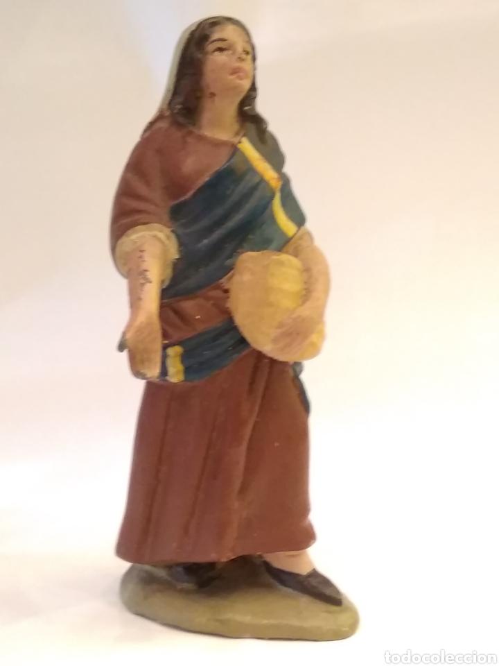 Figuras de Belén: Figura de Belén de terracota ( barro ) - Foto 2 - 137298436