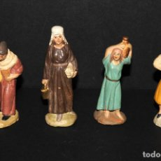 Figuras de Belén: LOTE DE FIGURAS DE BELEN O PESSEBRE EN TERRACOTA. Lote 137892482