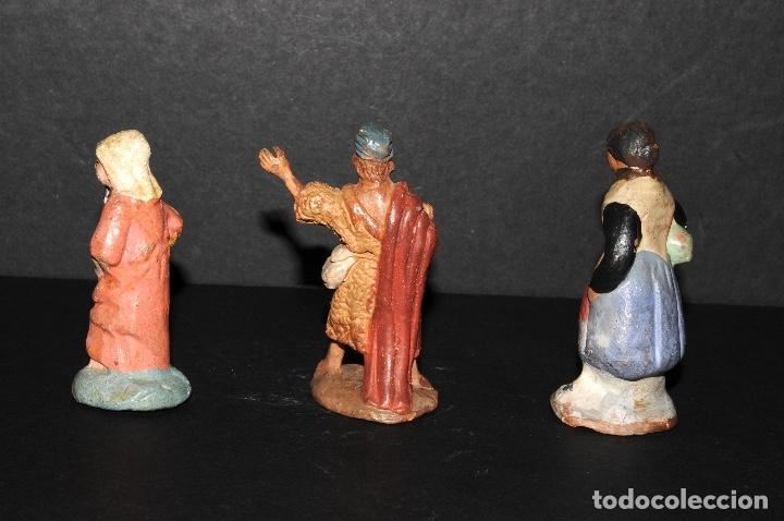 Figuras de Belén: LOTE DE FIGURAS DE BELEN O PESSEBRE EN TERRACOTA - Foto 2 - 137892718