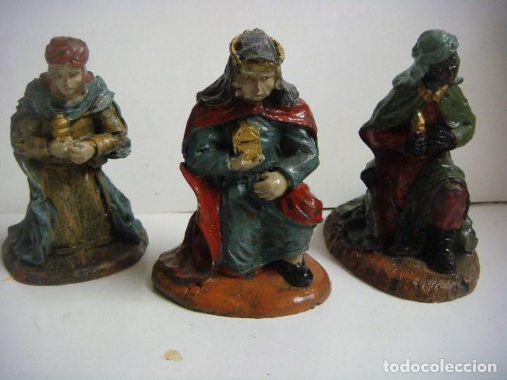799b430777a figuras para tu belen 3 figuras reyes magos en - Buy Old Nativity ...