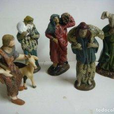 Figuras de Belén: FIGURAS PARA TU BELEN 5 FIGURAS EN RESINA LOTE Nº-3 (#). Lote 137925098