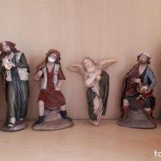 Figuras de Belén: ANUNCIACIÓN A LOS PASTORES. FIGURAS DE BELÉN. Lote 138345106