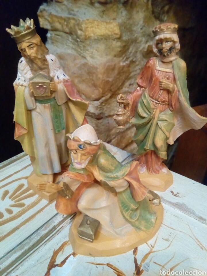LOS TRES REYES MAGOS (Coleccionismo - Figuras de Belén)