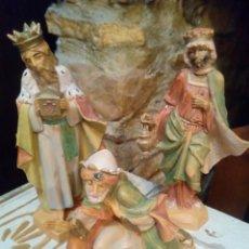 Figuras de Belén: LOS TRES REYES MAGOS. Lote 139247241