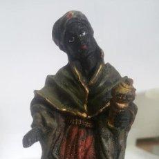 Figuras de Belén: COMERCIANTE / FIGURA DE BELEN / MARMOLINA O RESINA ¡¡ ENVIO GRATIS ¡¡. Lote 139512698